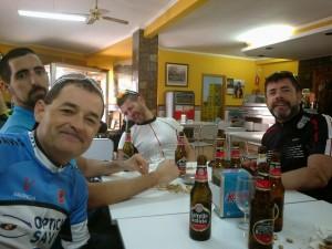 Cerveza tras la ruta