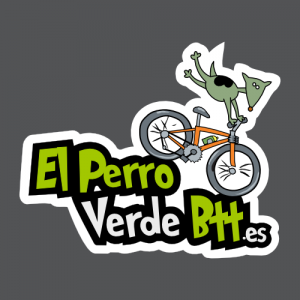 Diseño cuadrado de El Perro Verde BTT