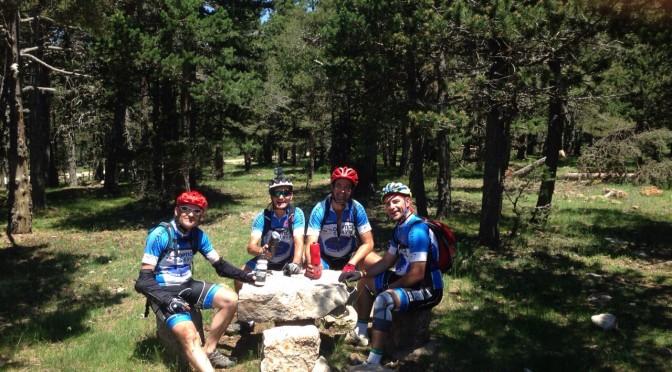 Días de convivencia y pedales: La Virgen de la Vega 2015