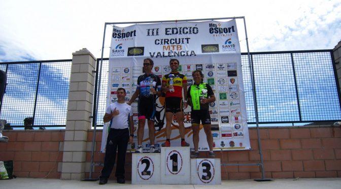 El Perro Verde BTT en carrera: Pódium de Vicente Sanz en Gestalgar