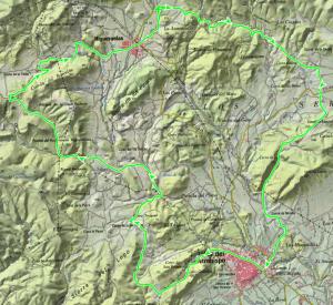 Mapa de la ruta. Pulsa para ampliar.